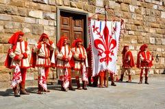 Rimessa in vigore medioevale in Italia Fotografie Stock Libere da Diritti