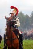 Rimessa in vigore storica di Borodino 2012 Fotografia Stock