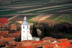 Rimetea Dorf Lizenzfreies Stockfoto