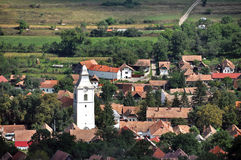 Rimetea village. Transylvania, Romania Stock Images