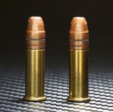 Rimfire cartridges Royalty Free Stock Photo