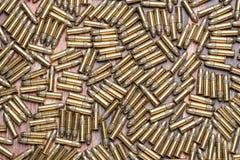 rimfire Munition mit 22 Kalibern Stockbild