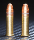 Rimfire rounds Royalty Free Stock Photography