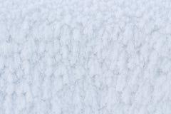 Rimfrost textur, bakgrund Arkivbilder