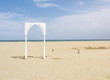 Rimini beach Stock Photos