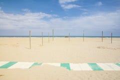 Rimini beach Stock Images