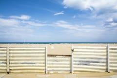 Rimini beach Royalty Free Stock Photos
