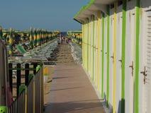Rimini beach Royalty Free Stock Image