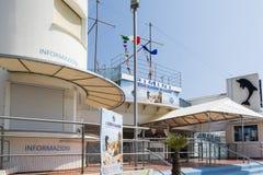 Rimini dolphinarium Zdjęcie Stock