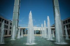 Rimini Fiera huvudsaklig ingång, Rimini Arkivbilder