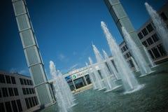 Rimini Fiera main entrance, Rimini Royalty Free Stock Image