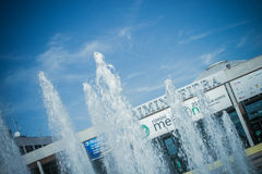 Rimini Fiera main entrance, Rimini Stock Images