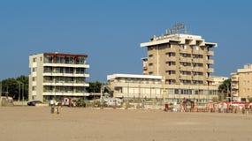 Rimini - Hotel Ascot Stockfotografie
