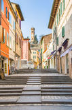 Rimini,  Italy - January 26, 2013 -  Santarcangelo di Romagna al Royalty Free Stock Photography