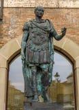 Rimini - Julius Caesar statue Royalty Free Stock Photos
