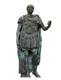 Rimini - Julius Caesar statue - isolated Stock Images