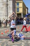 Rimini Marathon 2017, Italy stock images