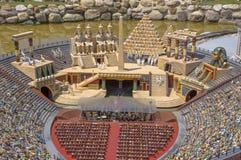 Rimini - Miniature of arena Stock Image