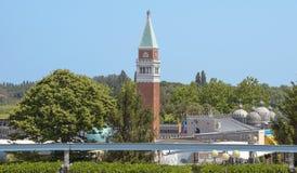 Rimini - Miniature of St Marks Campanile Stock Images
