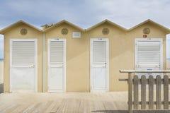 Rimini overzeese cabine Stock Afbeelding