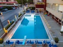 Rimini - Pływacki basen Obrazy Royalty Free