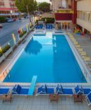 Rimini - Pływacki basen Zdjęcia Stock
