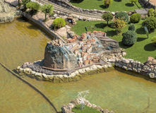 Rimini - Park Italy in miniature Stock Photo