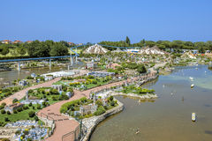 Rimini - parque Itália na miniatura Fotografia de Stock Royalty Free
