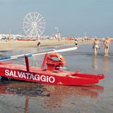 Rimini. A Photograph of Rimini beach royalty free stock photo
