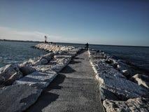 Rimini porto port Royaltyfria Bilder