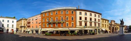 Rimini - quadrato di Cavour della piazza Fotografia Stock