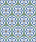 Rimini Seamless Pattern Stock Photos