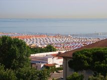 Rimini-Strand Lizenzfreie Stockfotografie