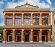 Rimini - Theater Amintore Galli royalty-vrije stock foto