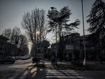 Rimini vinter Arkivbild