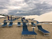 Riministrand in Italië royalty-vrije stock fotografie