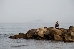 Rimirando il Mar... Royalty Free Stock Images