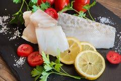 Rimmade codfish för vit Arkivbilder