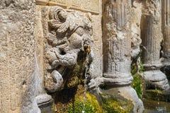 Rimondi喷泉石狮子头  库存照片