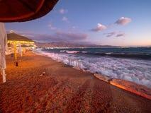 Rimonim Beach in Eilat, Israel