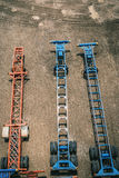 Rimorchi di trattore Immagine Stock