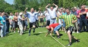 Rimorchiatore rurale di sport di war_4 Fotografia Stock Libera da Diritti