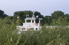 Rimorchiatore sul fiume Mississippi Fotografie Stock