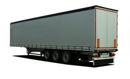 Rimorchio dei semi del camion Fotografie Stock Libere da Diritti