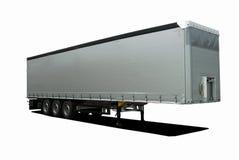 Rimorchio dei semi del camion Immagini Stock