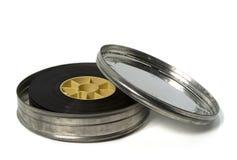 Rimorchio di film in latta a film metallico Immagine Stock Libera da Diritti