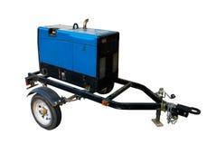 Rimorchio portatile del generatore Fotografie Stock