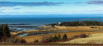 Quebec Rimouski countryside royalty free stock image
