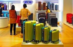Rimowa bagagelager royaltyfri foto