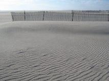 Rimpelingen in het zand Royalty-vrije Stock Afbeeldingen